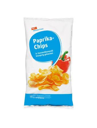 Darstellung von Paprika-Chips