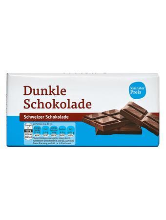 Darstellung von dunkle Schokolade
