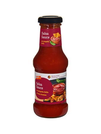 Darstellung von Salsa Sauce