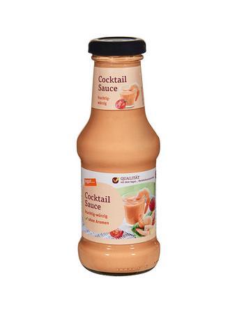 Darstellung von Cocktail Sauce