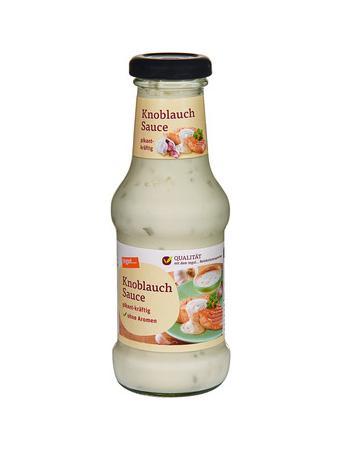 Darstellung von Knoblauch Sauce