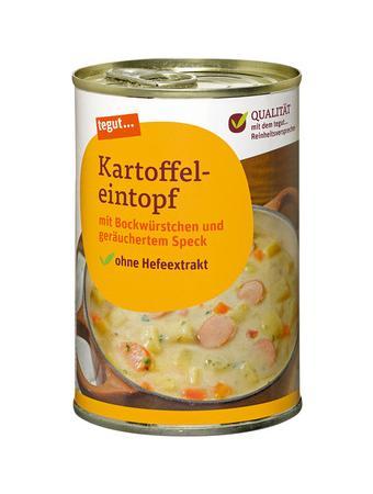 Darstellung von Kartoffeleintopf