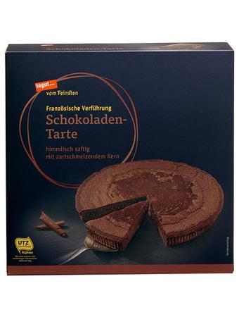 Darstellung von Schokoladen-Tarte