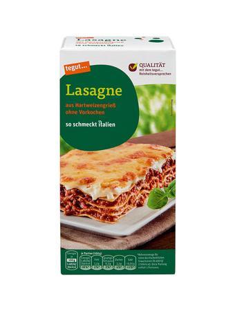 Darstellung von Lasagne