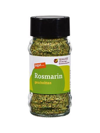 Darstellung von Rosmarin, geschnitten
