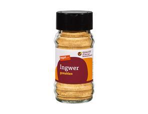 Darstellung von Ingwer, gemahlen