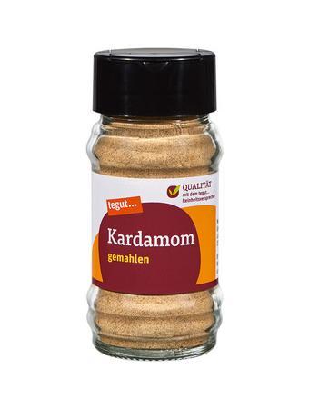 Darstellung von Kardamom, gemahlen