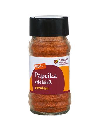 Darstellung von Paprika edelsüß