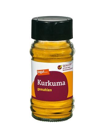 Darstellung von Kurkuma, gemahlen