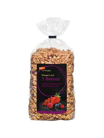Darstellung von Knuspermüsli 5 Beeren