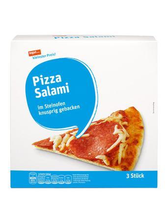 Darstellung von Pizza Salami
