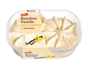Darstellung von Eiscreme Bourbon Vanille