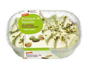 Darstellung von Eiscreme Pistazie & Vanille