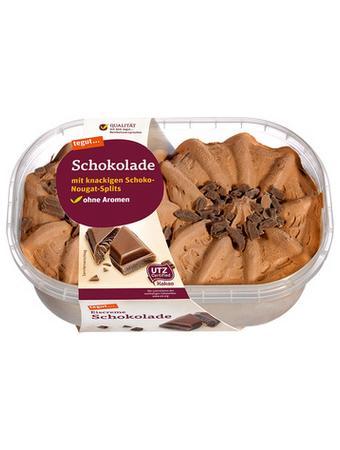 Darstellung von Eiscreme Schokolade