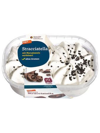 Darstellung von Eiscreme Stracciatella