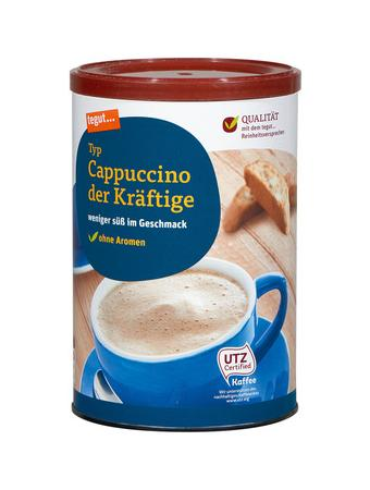 Darstellung von Cappuccino der Kräftige