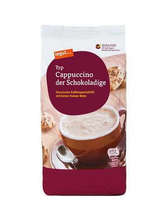 Darstellung von Cappuccino der Schokoladige