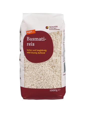 Darstellung von Basmatireis