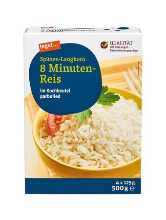 Darstellung von Spitzen-Langkorn 8 Minuten-Reis, KB