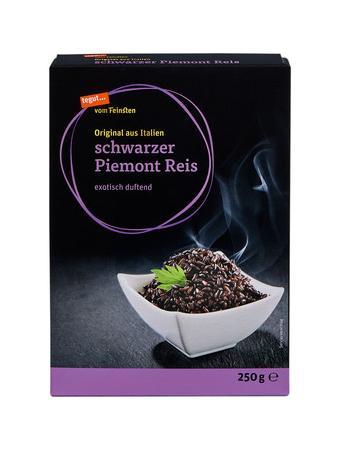 Darstellung von schwarzer Piemont Reis