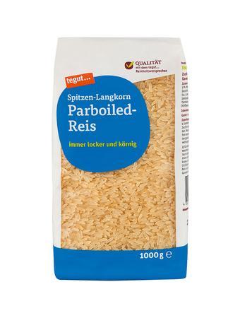Darstellung von Spitzen-Langkorn Parboiled-Reis FB