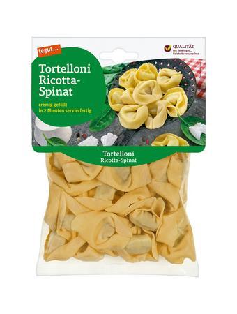 Darstellung von Tortelloni Ricotta-Spinat