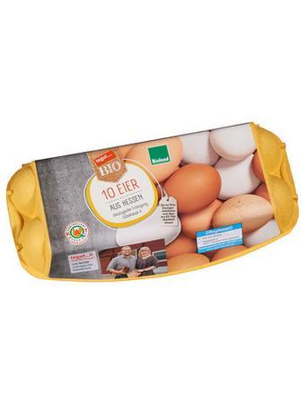 Darstellung von 10 Eier aus Hessen