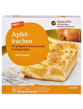 Darstellung von Apfelkuchen