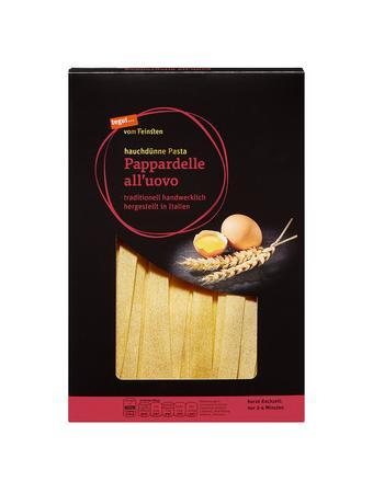 Darstellung von Pappardelle all'uovo