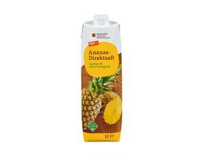 Darstellung von Ananas-Direktsaft