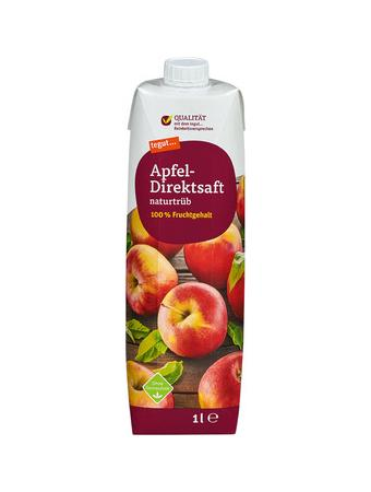 Darstellung von Apfel-Direktsaft naturtrüb