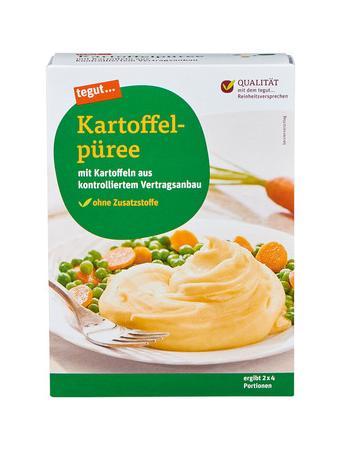 Darstellung von Kartoffelpüree
