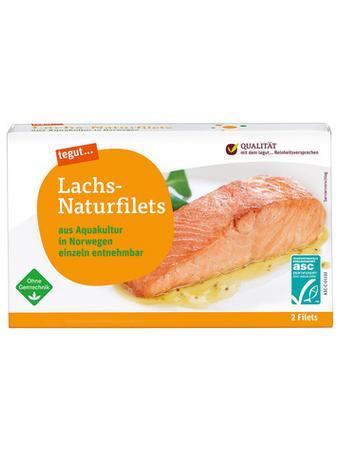 Darstellung von Lachs-Naturfilets
