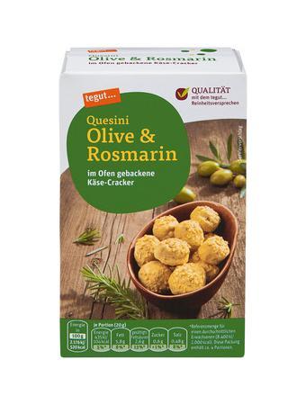 Darstellung von Quesini Olive & Rosmarin