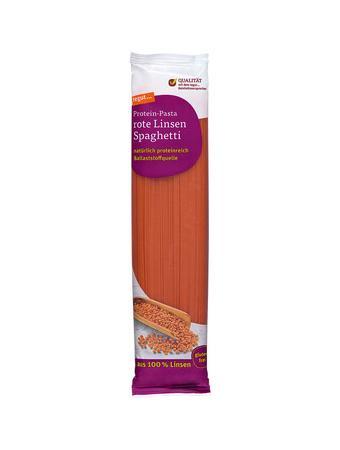 Darstellung von rote Linsen Spaghetti