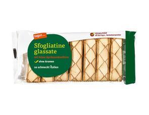 Darstellung von Sfogliatine glassate