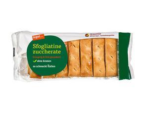 Darstellung von Sfogliatine zuccherate