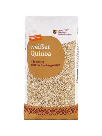 Darstellung von weißer Quinoa