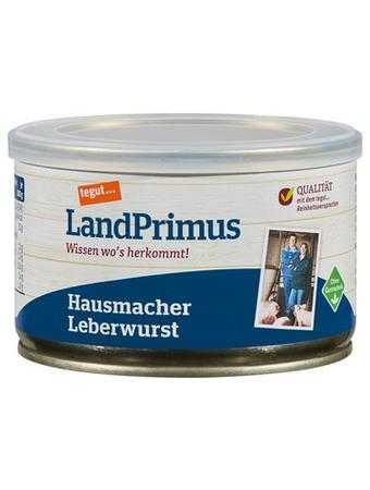 Darstellung von LandPrimus Dose Hausmacher Leberwurst
