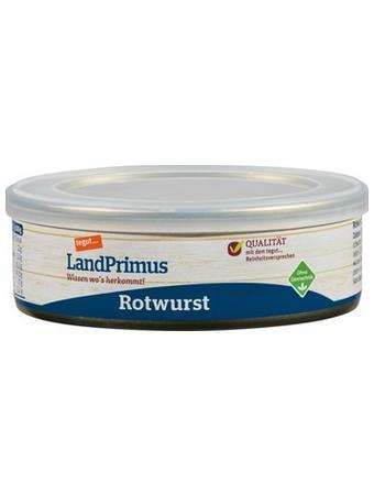 Darstellung von LandPrimus Dose Rotwurst