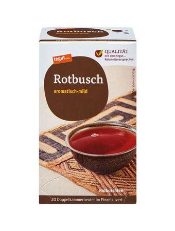 Darstellung von Rotbusch
