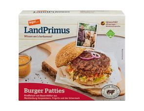 Darstellung von Burger Patties