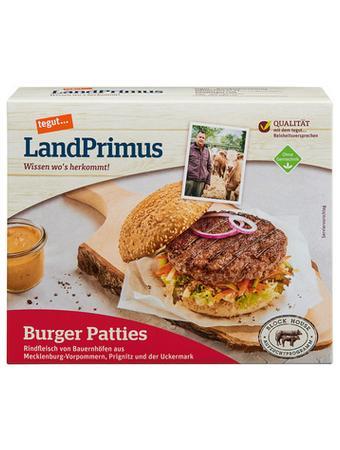 Darstellung von LandPrimus Burger Patties