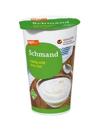 Darstellung von Schmand 24% Fett