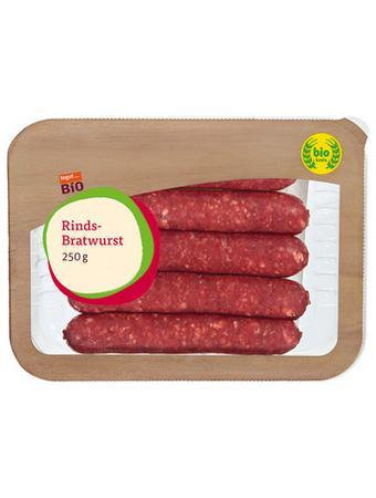 Darstellung von SB Bio Rinds-Bratwurst
