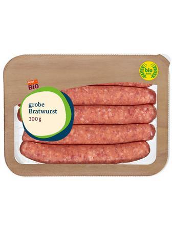 Darstellung von SB Bio grobe Bratwurst