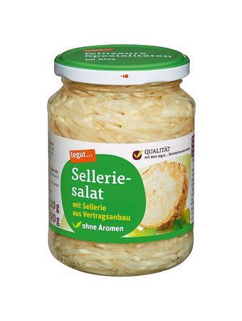 Darstellung von Selleriesalat