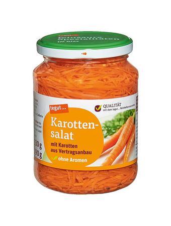Darstellung von Karottensalat