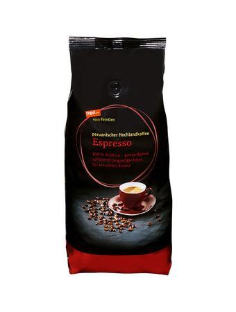 Darstellung von Espresso