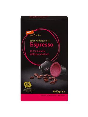 Darstellung von Espresso Kapseln